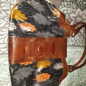 Orla Kiely leather bag from London!